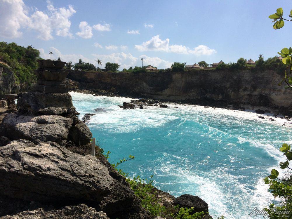 Indahnya Blue Lagoon di Nusa Ceningan, Bali | Lady Pinem