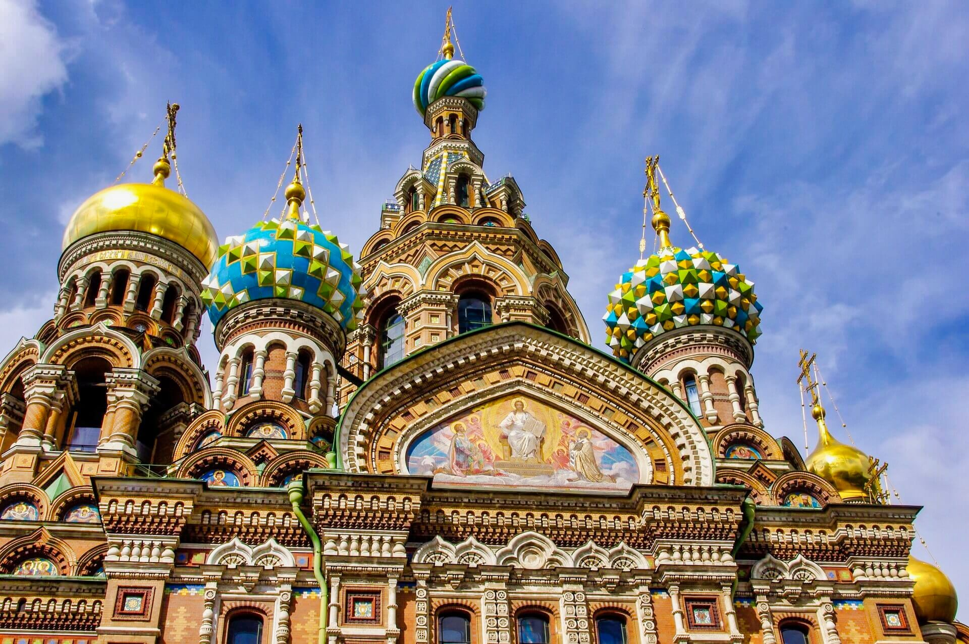 Saint Petersburg - The Church of the Savior on the Spilled Blood 2