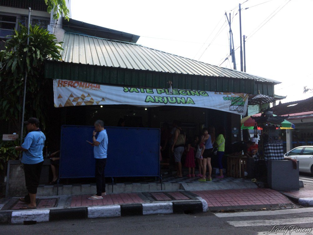 Sate Plecing Arjuna Denpasar Bali - 1