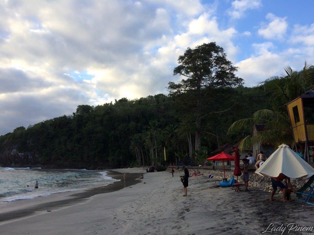 pantai crystal bay nusa penida beach bali - 1
