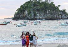 pantai crystal bay nusa penida beach bali - 3