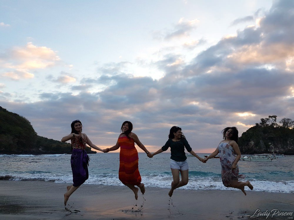 pantai crystal bay nusa penida beach bali - 6